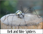 Bell and Wire Spiders