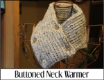 Buttoned Neck Warmer