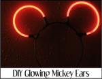 DIY Glowing Mickey Ears