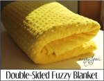 Double Sided Fuzzy Blanket