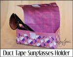 Duct Tape Sunglasses Holder
