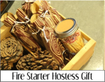 Fire Starter Hostess Gift