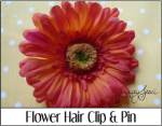 Flower Hair Clip and Pin