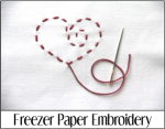 Freezer Paper Embroidery
