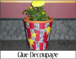 Glue Decoupage