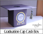 Graduation Cap Cash Box