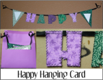 Happy Hanging Card