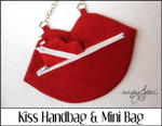 Kiss Handbag and Mini Bag
