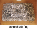 Knotted Knit Rug