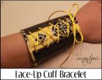 Lace Up Cuff Bracelet