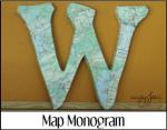 Map Monogram
