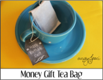 Money Gift Tea Bag