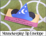Mousekeeping Tip Envelope