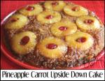 Pineapple Carrot Upside Down Cake