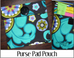 Purse Pad Pouch