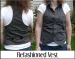 Refashioned Vest