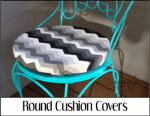 Round Cushion Covers
