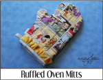 Ruffled Oven Mitts