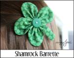 Shamrock Barrette