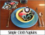 Simple Cloth Napkins
