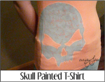 Skull Painted T-Shirt