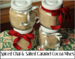 Spiced Chai and Salted Caramel Cocoa Mixes
