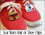 Star Wars Hair or Shoe Clips