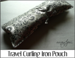 Travel Curling Iron Pouch