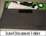 Travel Document Folder