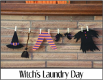 Witchs Laundry Day
