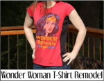 Wonder Woman T-Shirt Remodel