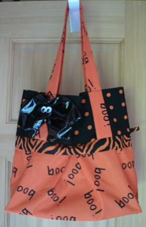 Halloween Trick-or-Treat Bag - Crafty Staci