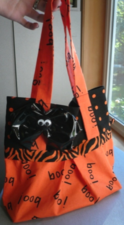 Trick-or-Treat Bag for Halloween - Crafty Staci