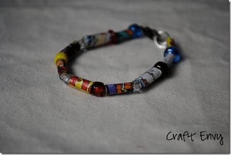 7 comic strip bracelet