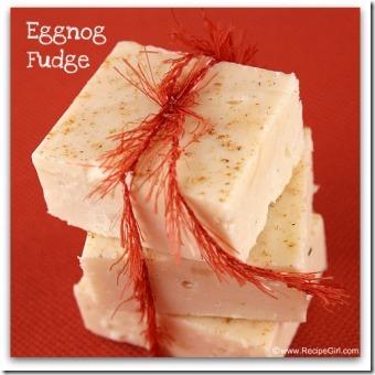 Eggnog-Fudge