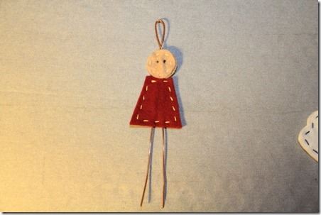 Felt and Wire Angel 4