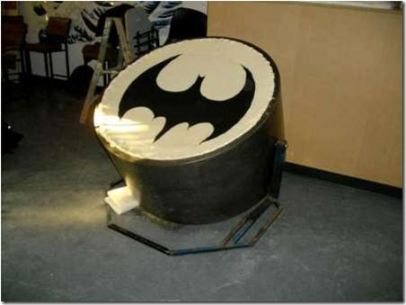 Bat-signal-Papasan-Chair
