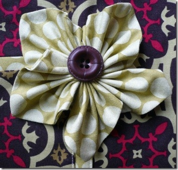 NRE Fabric Flower 1