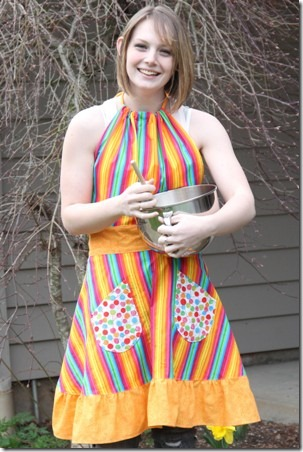 Spring Apron Giveaway 1
