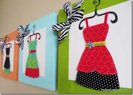 dressup wall canvases 3