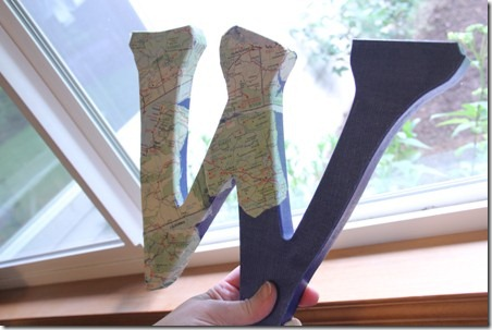 Map Monogram 3