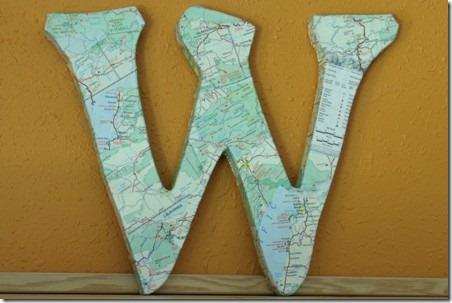 Map Monogram 5