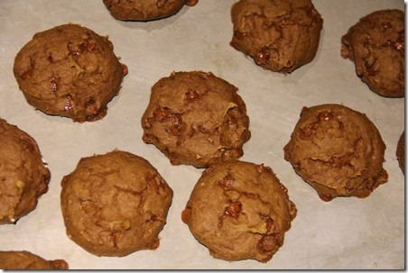Pumpkin Latte Cookies 3
