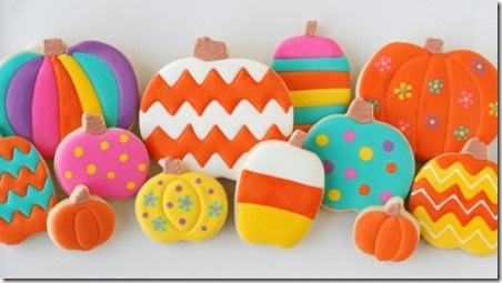 rainbow-pumpkin-cookies