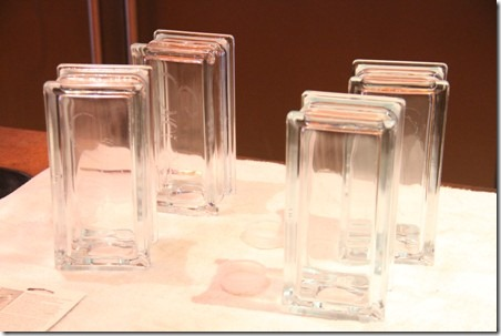 Glass Block Bookends 6