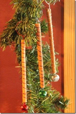 Simple Cinnamon Stick Ornaments 1