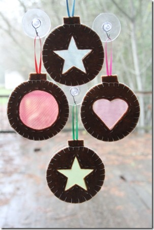 Stained Glass Cookie Ornaments 8