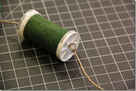 Thread Spool and Button Garland 10
