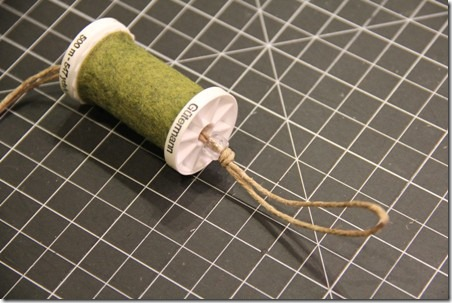 Thread Spool and Button Garland 13