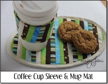 Coffee Sleeve and Mug Mat